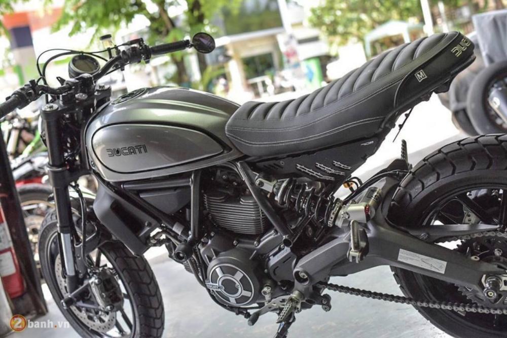 Ducati Scrambler chien binh hoai co lot xac day an tuong tu Mugello - 2