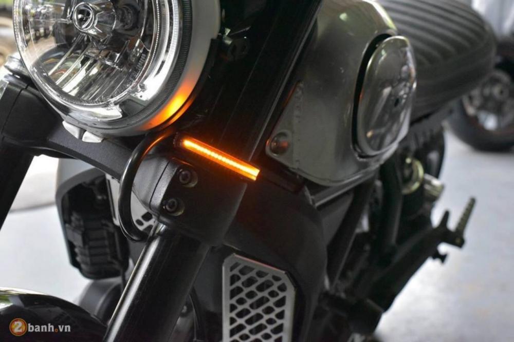 Ducati Scrambler chien binh hoai co lot xac day an tuong tu Mugello - 6
