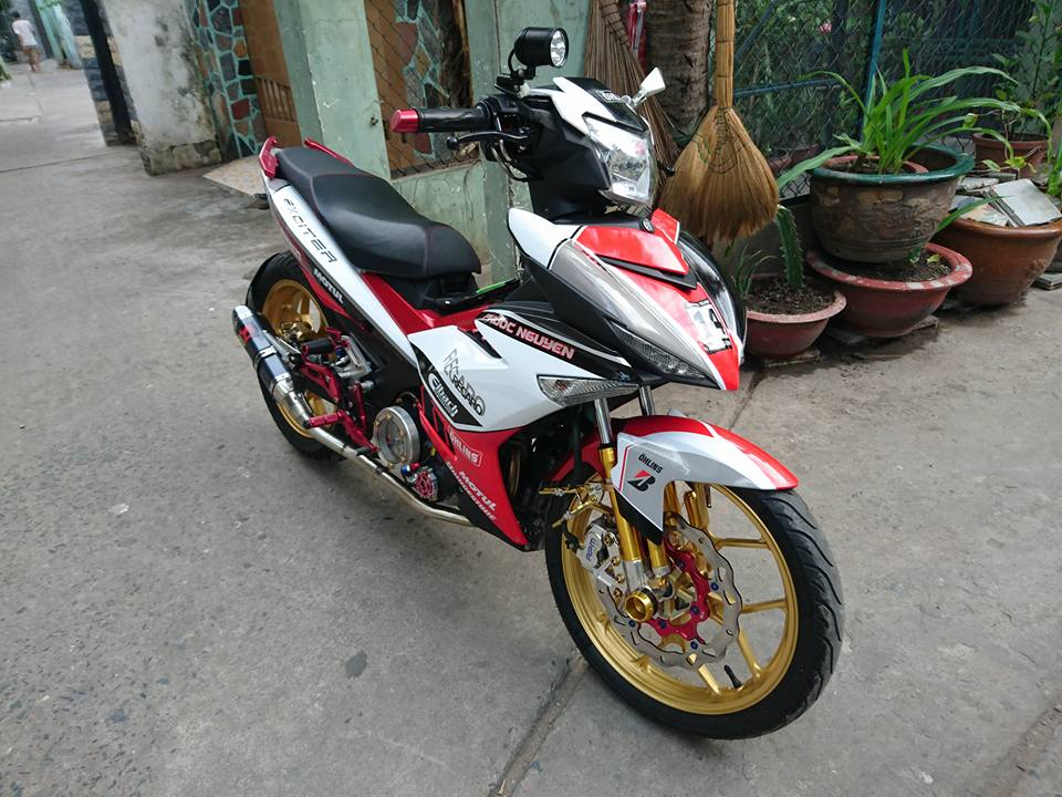 Exciter 150 ban do an tuong manh cua biker Binh Tan - 4