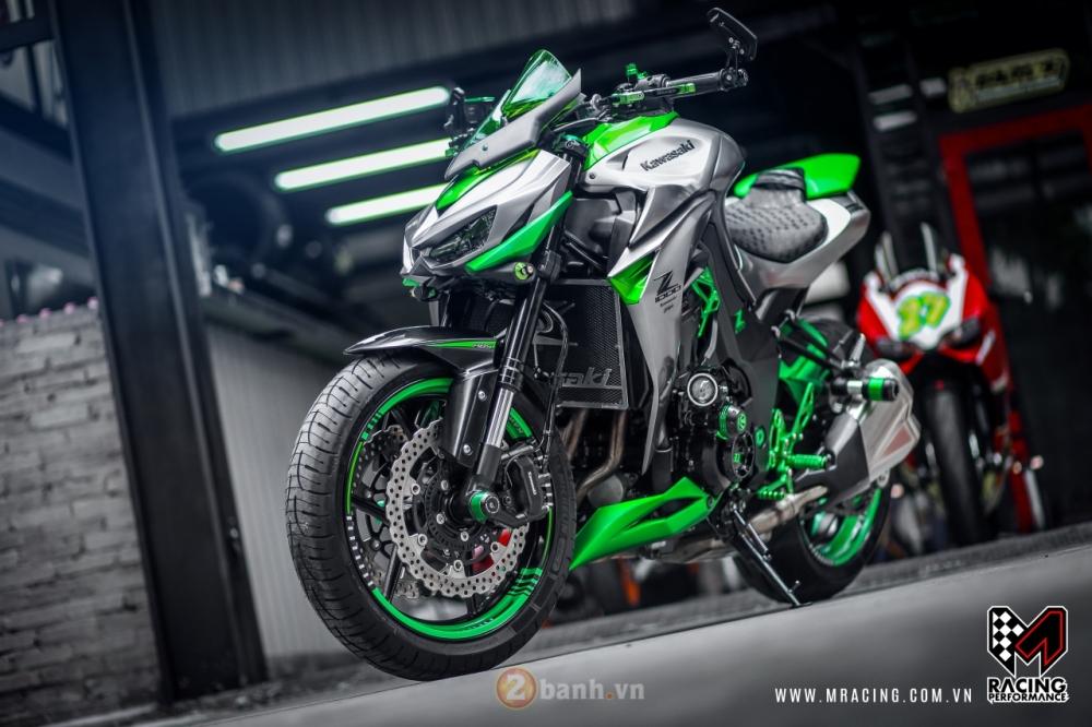 Kawasaki Z1000 hoa khoi lang moto co man lot xac an tuong tai VN