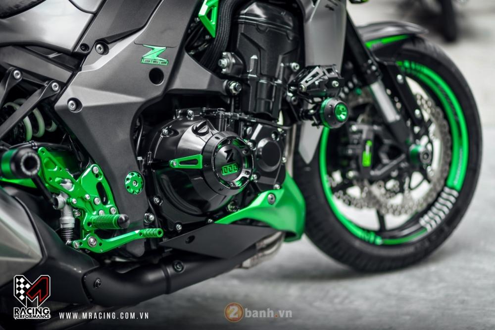 Kawasaki Z1000 hoa khoi lang moto co man lot xac an tuong tai VN - 4