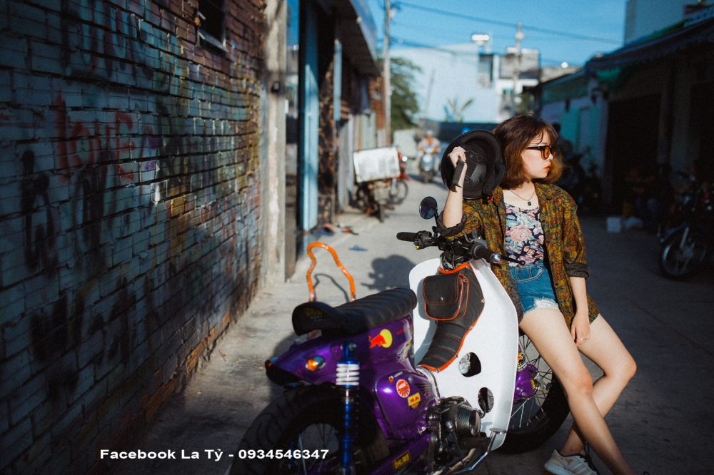 Nguoi Mau Huynh Thi Than Uy Cung Xe Cub Do TpHcm - 10