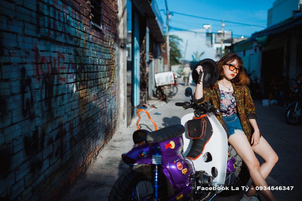 Nguoi Mau Huynh Thi Than Uy Cung Xe Cub Do TpHcm - 12