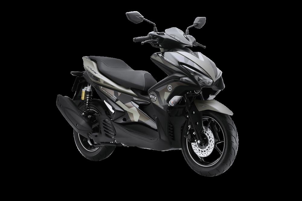 Yamaha NVX 155 Camo chinh thuc duoc ra mat voi gia tu 52690000 Dong - 2