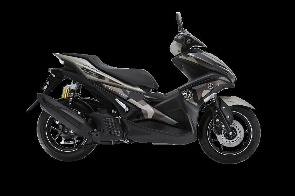 Yamaha NVX 155 Camo chinh thuc duoc ra mat voi gia tu 52690000 Dong - 4