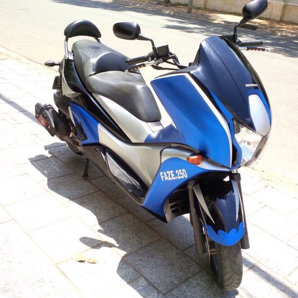 Ban Honda Faze 250 date 2012 - 3