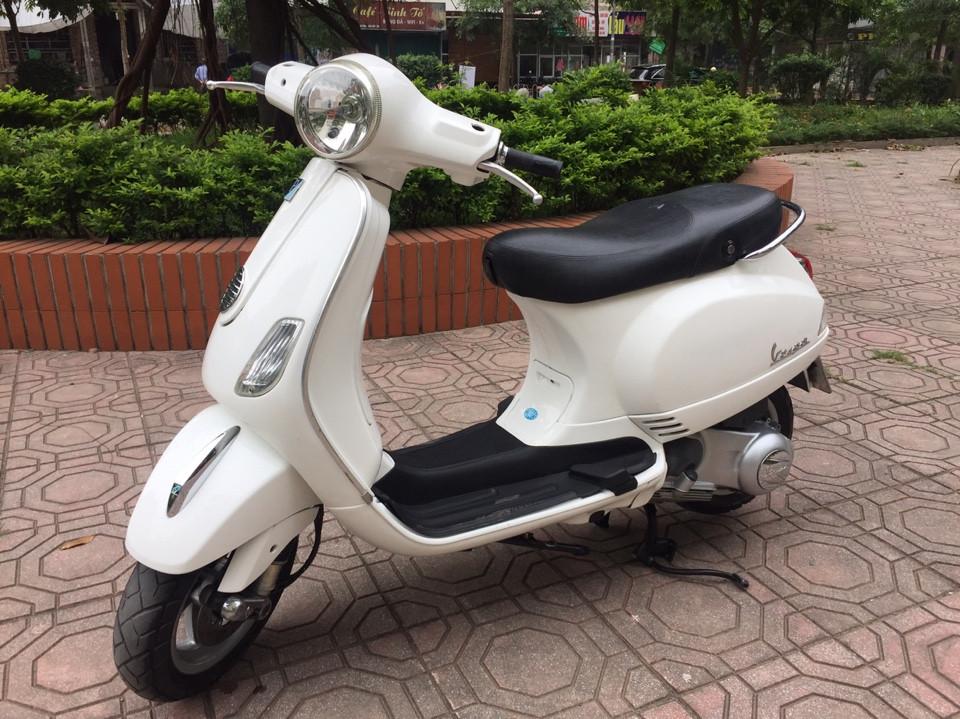 Ban Vespa Lx 125ie 2012 trang chinh chu nu nguyen ban bien HN - 4
