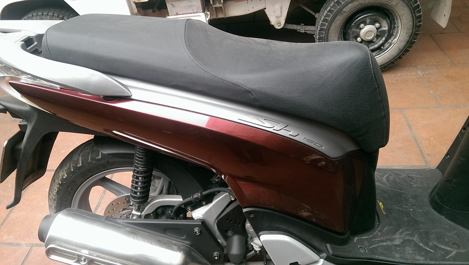 Ban xe Honda SH 150CC sporty do dun 2012 nhap cua Y - 5