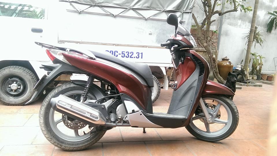 Ban xe Honda SH 150CC sporty do dun 2012 nhap cua Y - 6