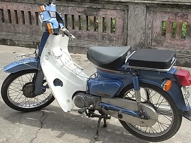 BAN XE MAY HONDA CUB 82 KIM VANG GIOT LE HOI 50CC - 2