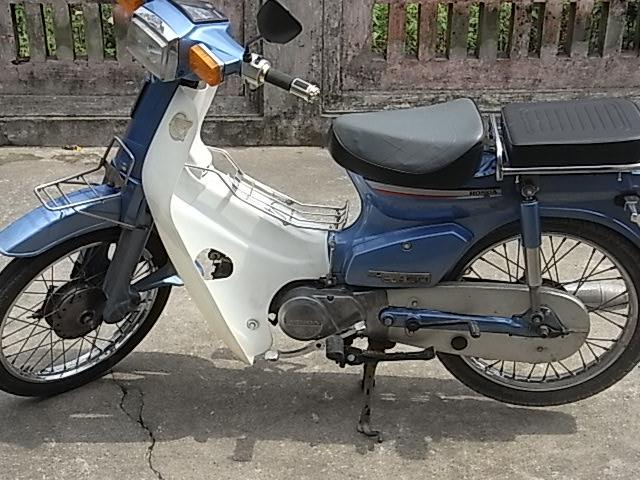BAN XE MAY HONDA CUB 82 KIM VANG GIOT LE HOI 50CC - 10