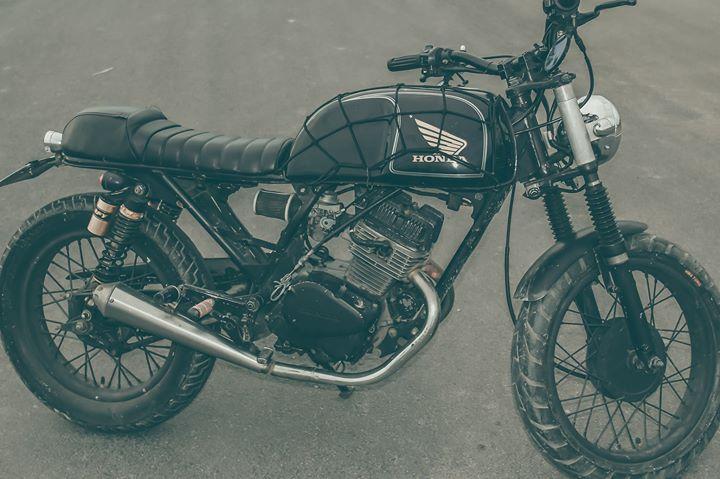 Cafe racer Honda CBT 125 cc - 2