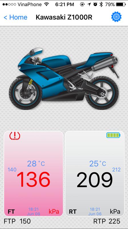 Cam bien ap suat lop Fobo Bike danh cho motor xe may - 7