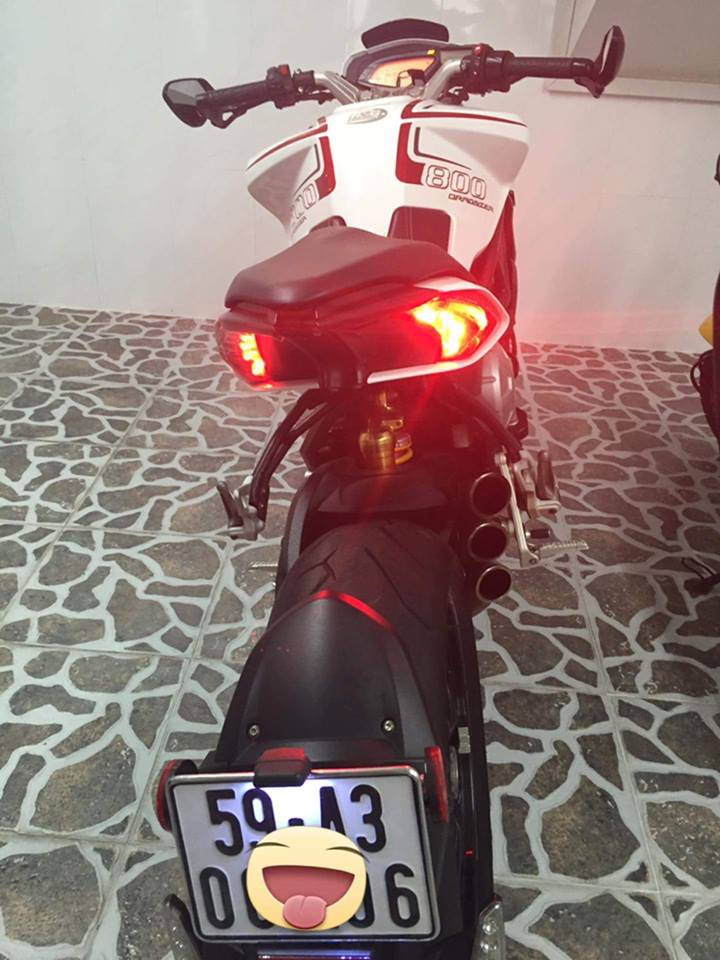 Can ban MV agusta dragters 800 2015 ABSxe chua he dam dung hay te nga bao test - 8