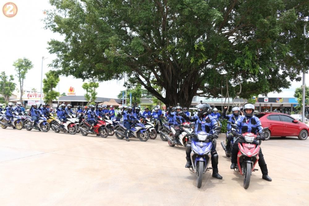 Danh gia Exciter trong chang duong gan 450 km tu Thai Lan sang Campuchia