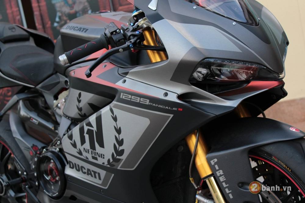 Ducati 1299 Panigale S chuan khong can chinh sau khi qua tay dan choi Thai - 4