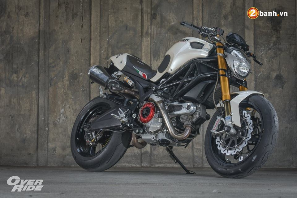 Ducati Monster 696 con quai thu huyen thoai cua nha Ducati - 23