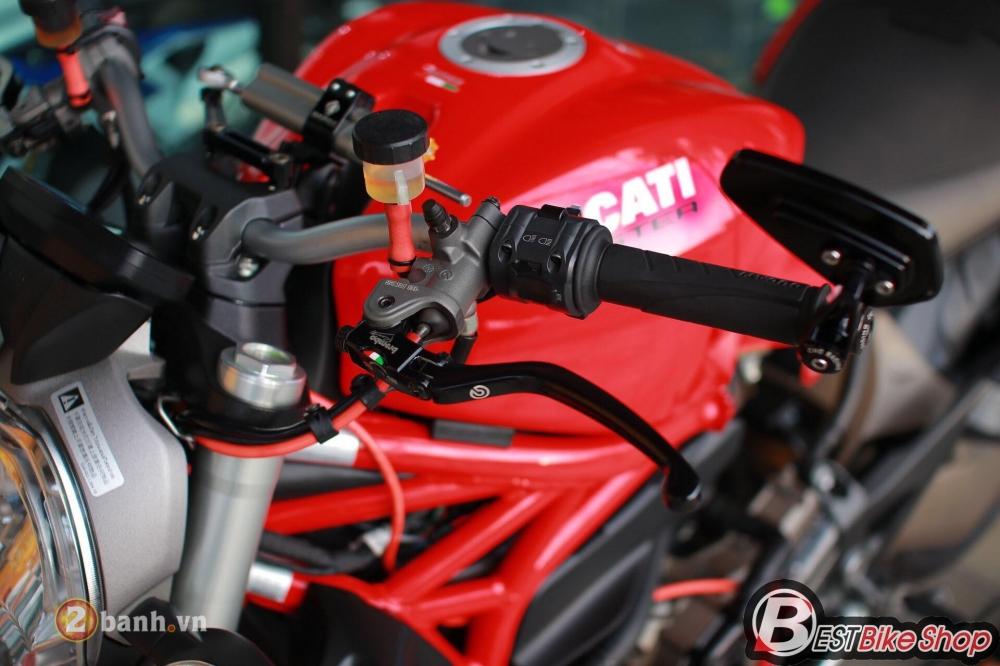 Ducati Monster 821 phong thai nguyen ban nhung khong he don gian - 4