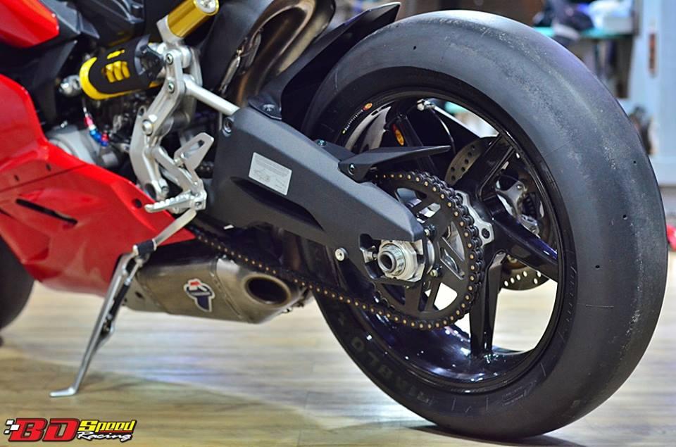 Ducati 899 Panigale lot xac cuc chat trong ban do FULL OPTION - 10
