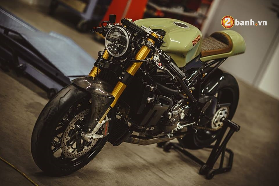 Ducati streetfighter 848 pha cach trong ban do Cafe Race - 2