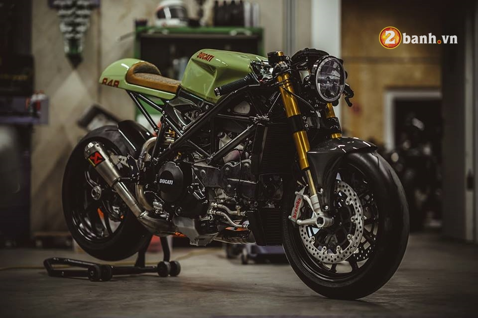 Ducati streetfighter 848 pha cach trong ban do Cafe Race - 4