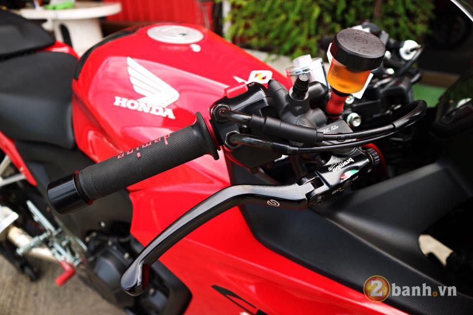 Honda CBR500R chu Bo moi lon day an tuong voi su nang cap dot pha - 3