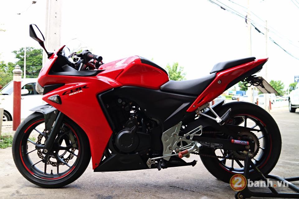 Honda CBR500R chu Bo moi lon day an tuong voi su nang cap dot pha - 13