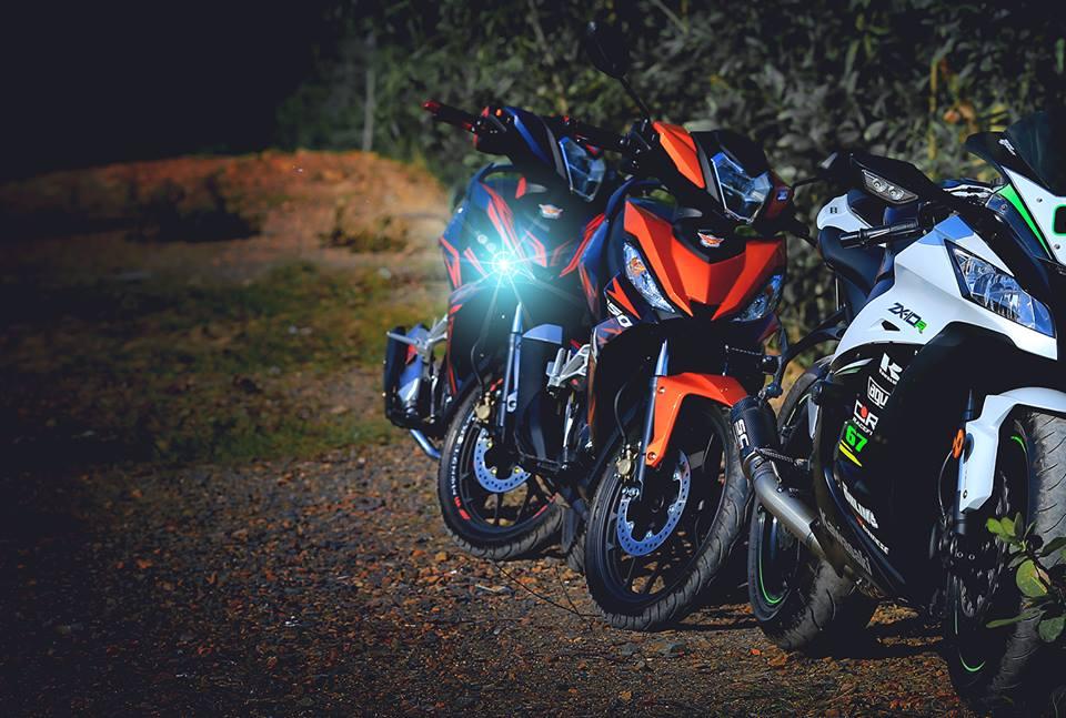 Honda Winner 150cc bo anh dep voi goc nhin dan phuot - 6