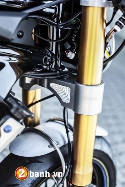 Kawasaki ER6n lot xac cung phong cach Cafe Race tran trui - 4