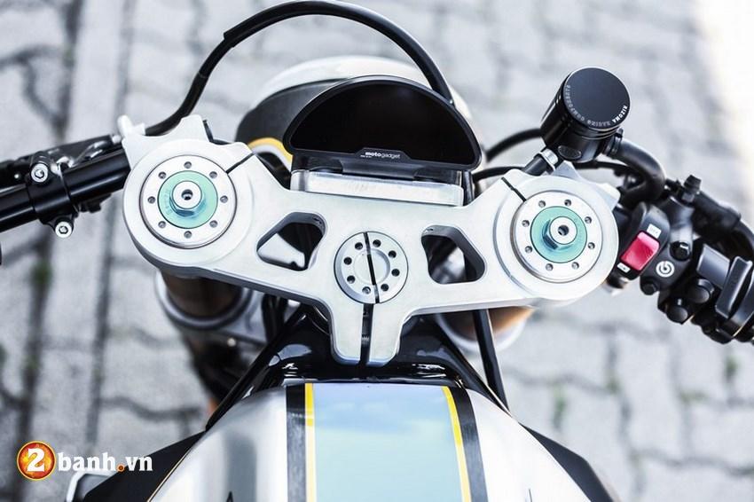 Kawasaki ER6n lot xac cung phong cach Cafe Race tran trui - 5