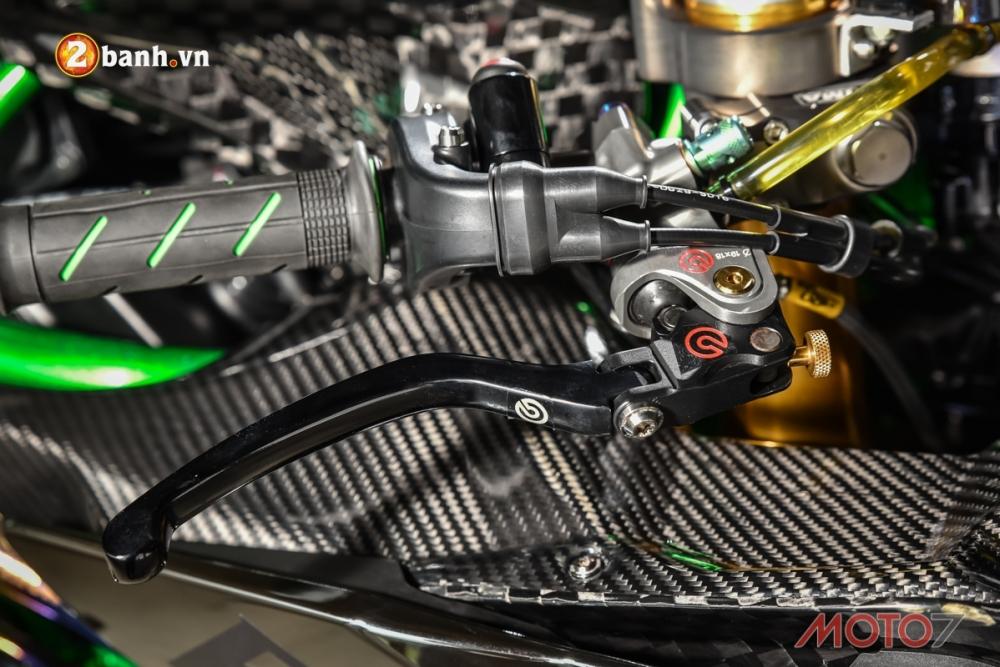 Kawasaki H2 sieu pham Ninja Full Carbon fiber - 4