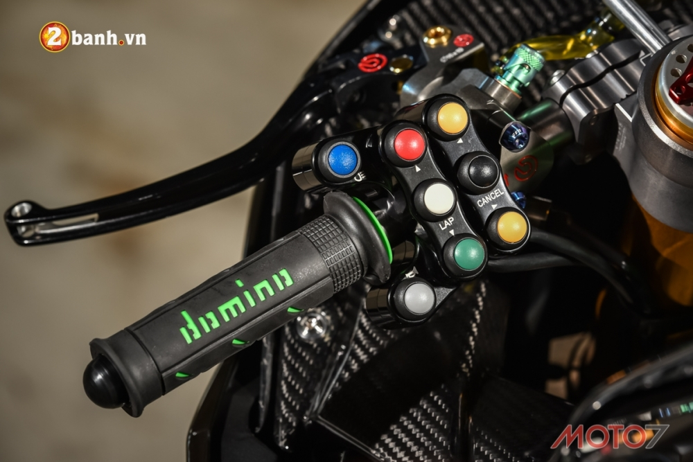 Kawasaki H2 sieu pham Ninja Full Carbon fiber - 6