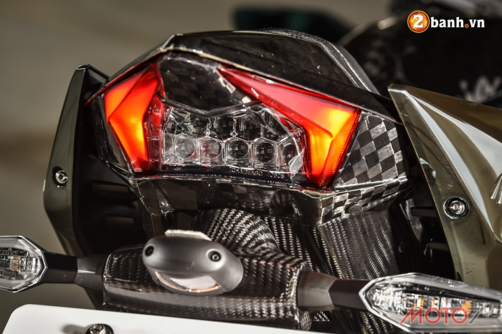 Kawasaki H2 sieu pham Ninja Full Carbon fiber - 10