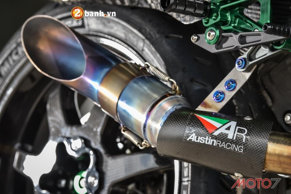 Kawasaki H2 sieu pham Ninja Full Carbon fiber - 19