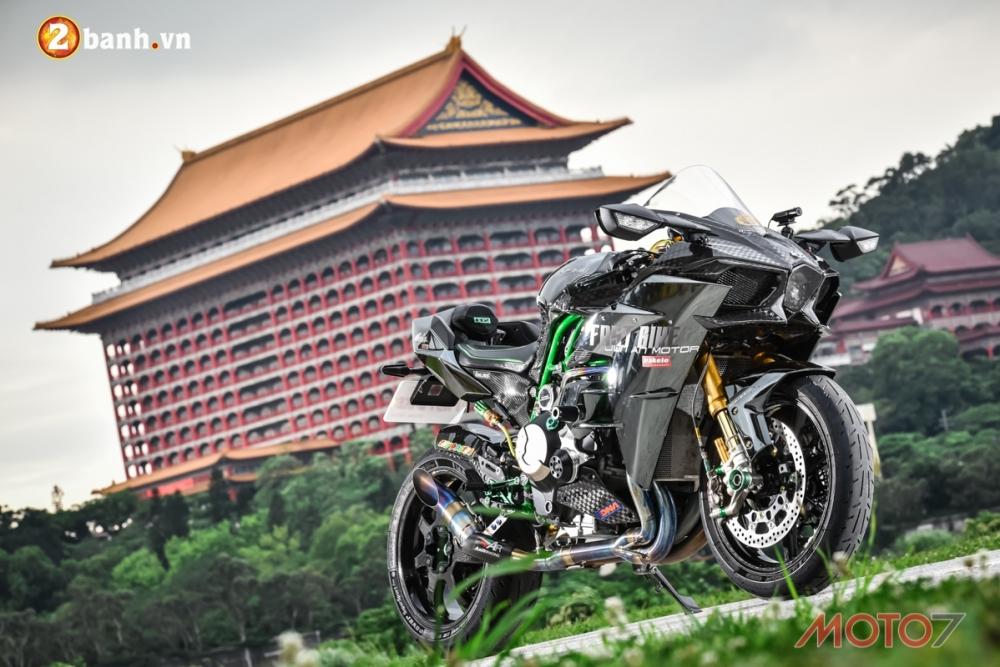 Kawasaki H2 sieu pham Ninja Full Carbon fiber - 23