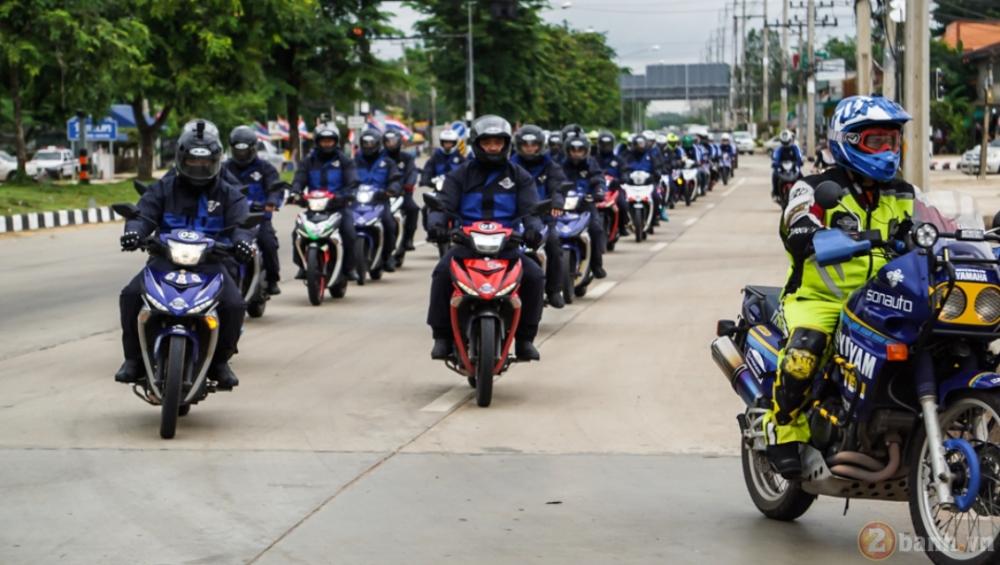 Nhung chang duong cuoi cung cua Cuoc hanh trinh 3000 km Dong Nam A cung Yamaha Exciter
