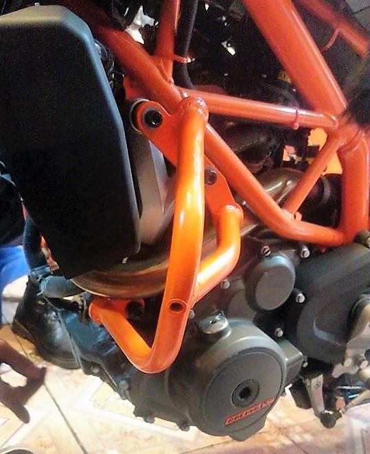 MTStore Chong do Cobra cho KTM Duke - 5
