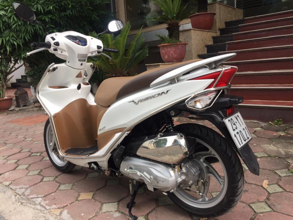 Rao ban Honda Vision fi 2014 trang chinh chu nha it dung con moi 98 - 6