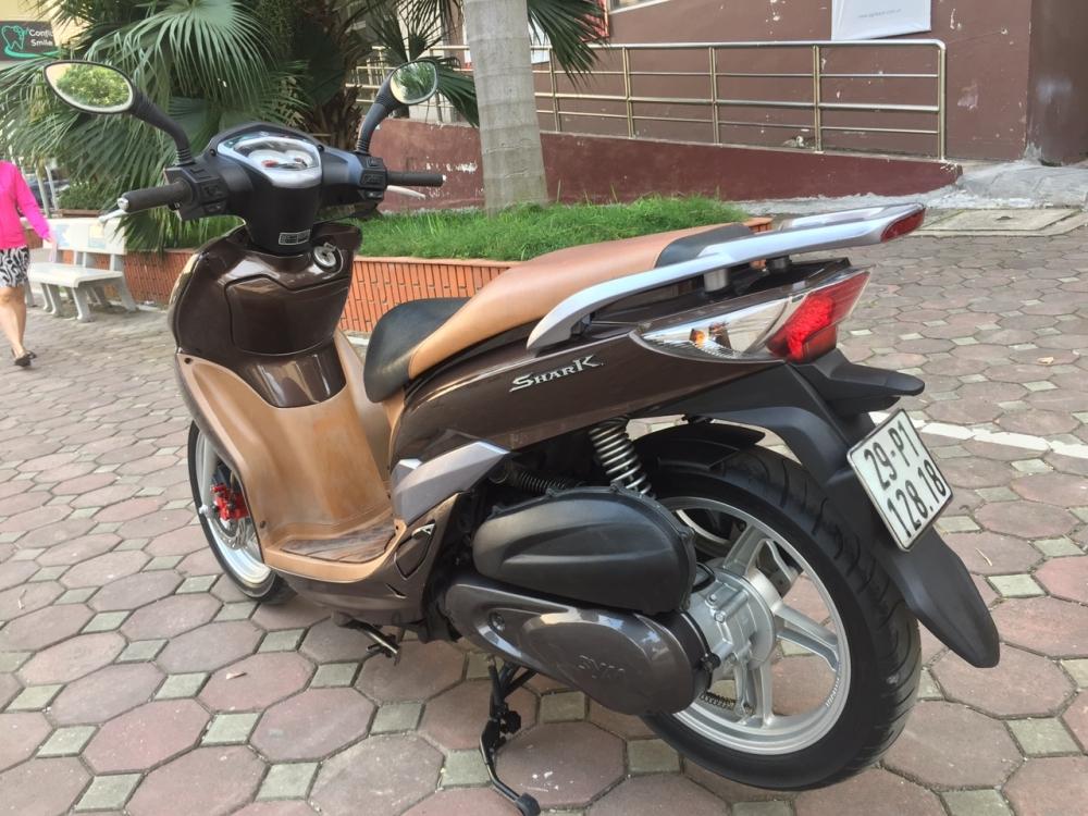 Rao ban Shark 125 nau 2011 kieu dang Sh con rat moi chinh chu su dung nguyen ban - 6