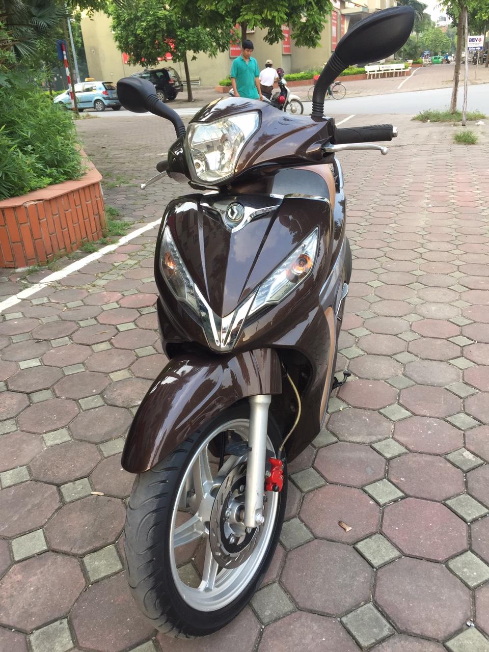 Rao ban Shark 125 nau 2011 kieu dang Sh con rat moi chinh chu su dung nguyen ban - 5