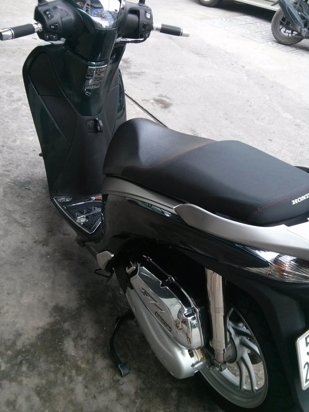 SH 150 Xanh Reu Smartkey 112016 - 2