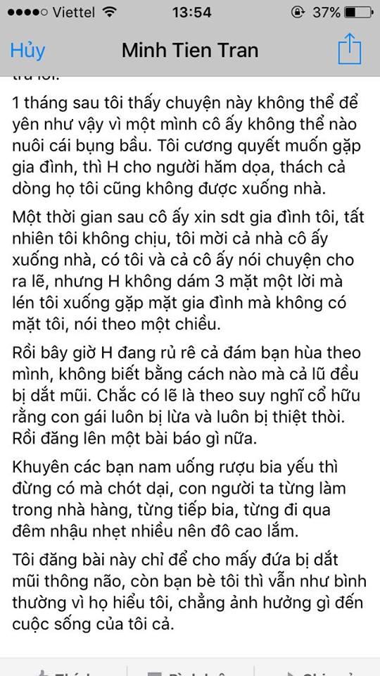 Su that cua bien Phich thu lam con nha nguoi ta co bau roi phu nhan - 7