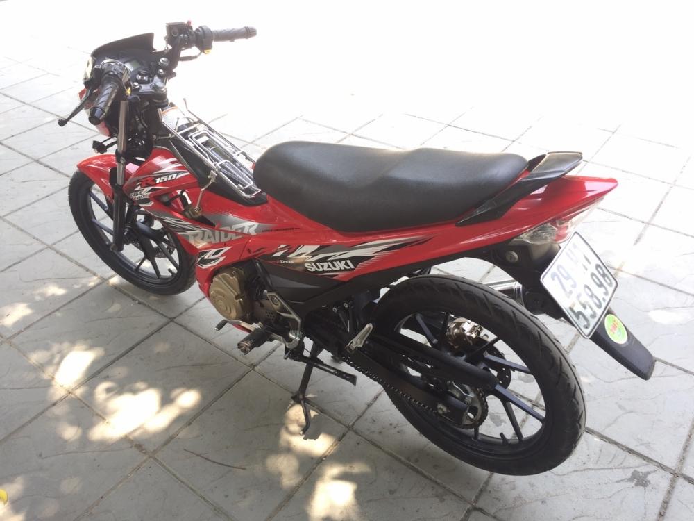 Suzuki Raider 150cc mau do 2015 bien 29H1 55898 - 2