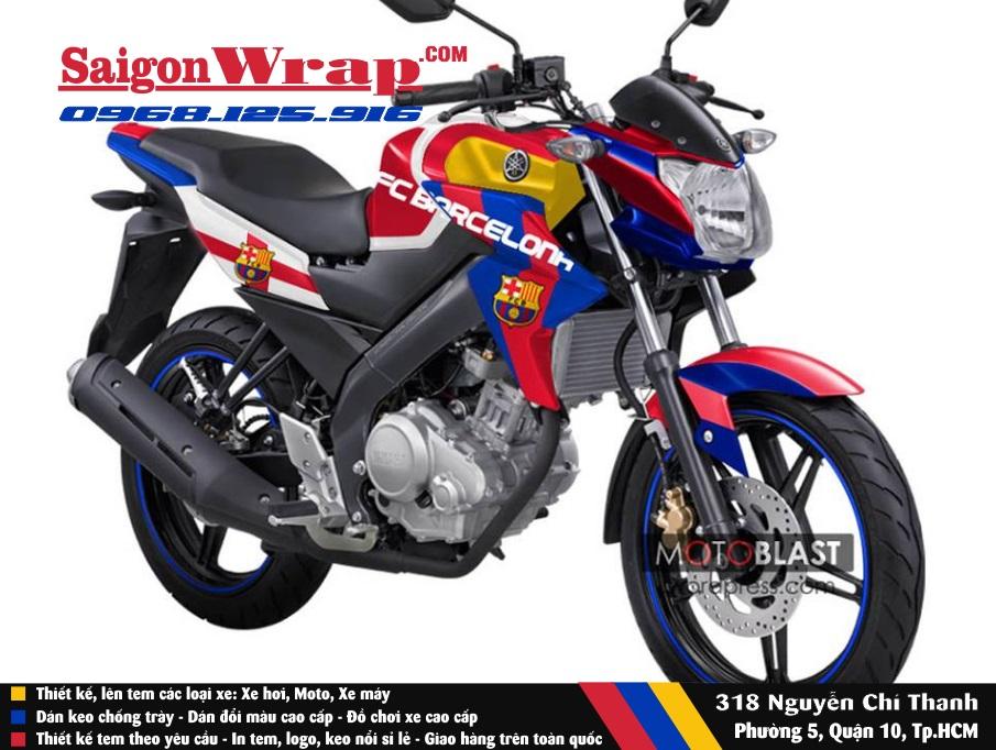 Tem Che FZ 150 SaiGonWrapCom Do Tem Xe Chuyen Nghiep - 14