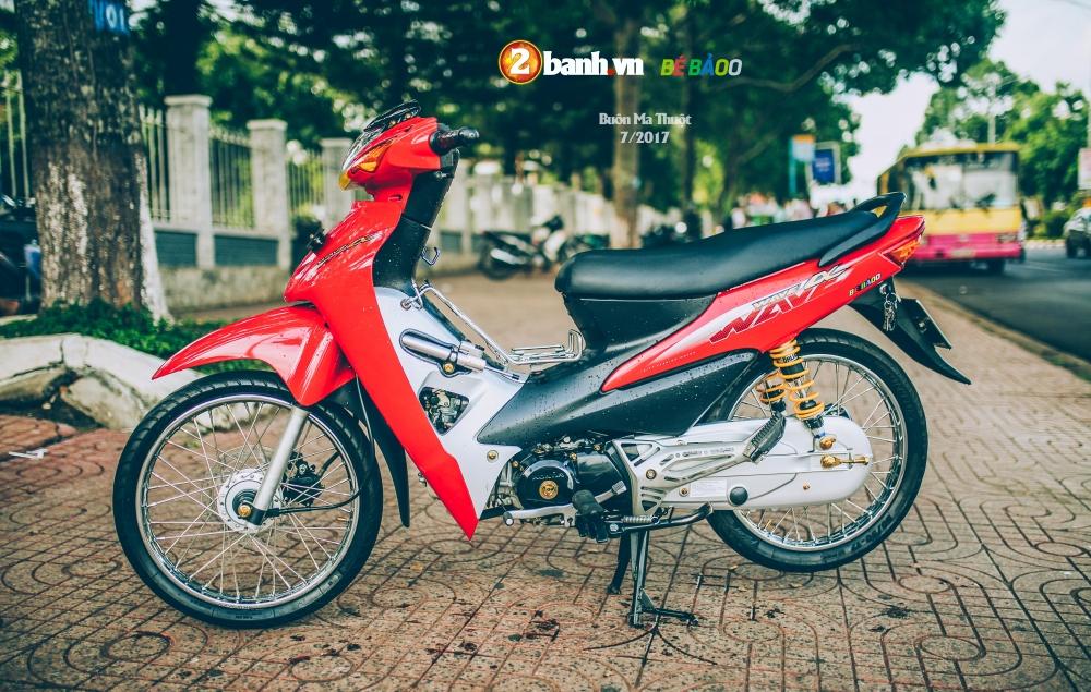 Wave A do kieng nhe phong cach tem zin Pho nui Buon Ma Thuot - 15