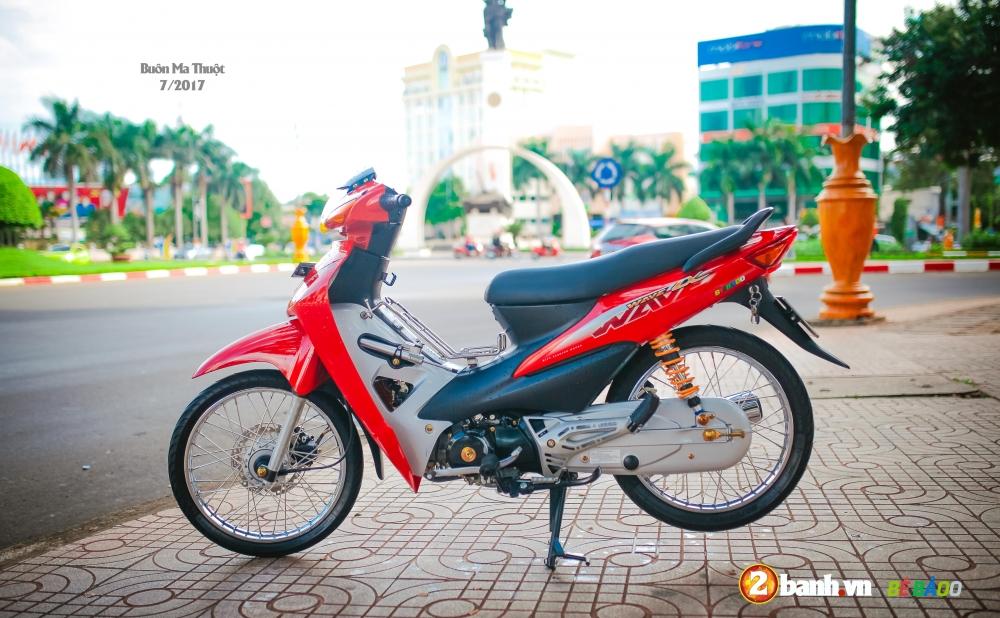 Wave A do kieng nhe phong cach tem zin Pho nui Buon Ma Thuot - 17