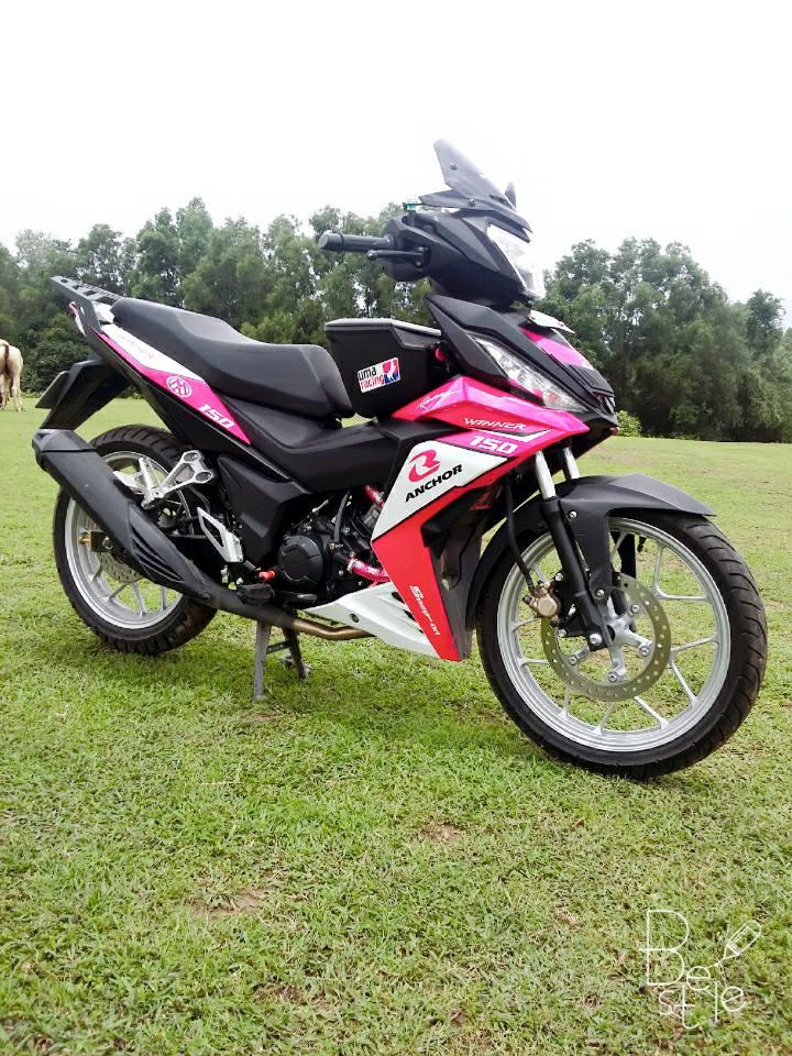 Winner 150cc phong cach hong khoe dang ben dan cuu non - 5