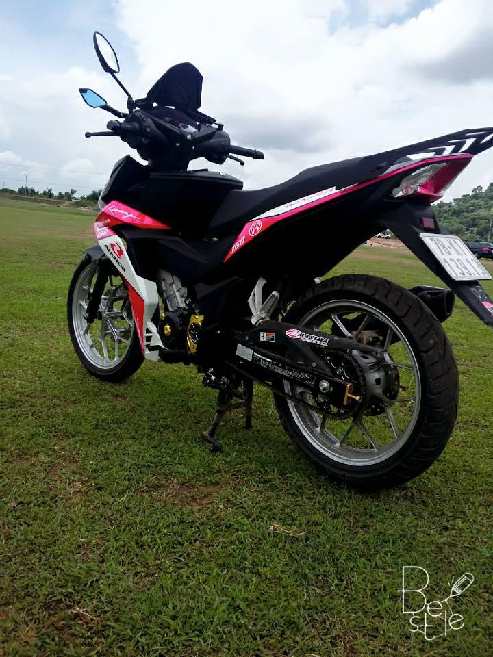 Winner 150cc phong cach hong khoe dang ben dan cuu non - 7