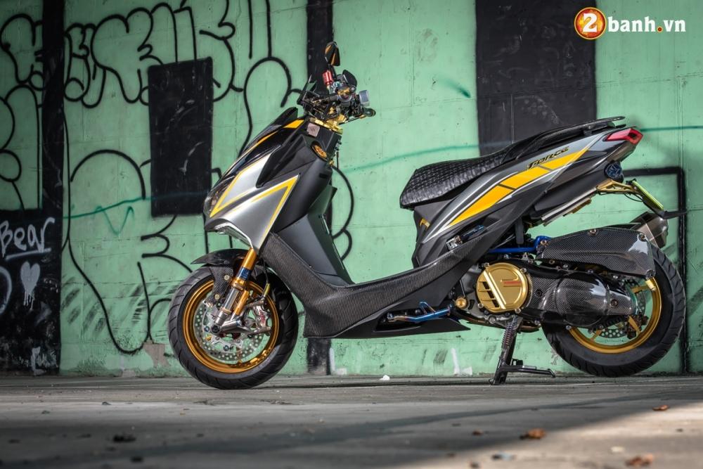 Yamaha Force 155 pha cach trong ban do full Option