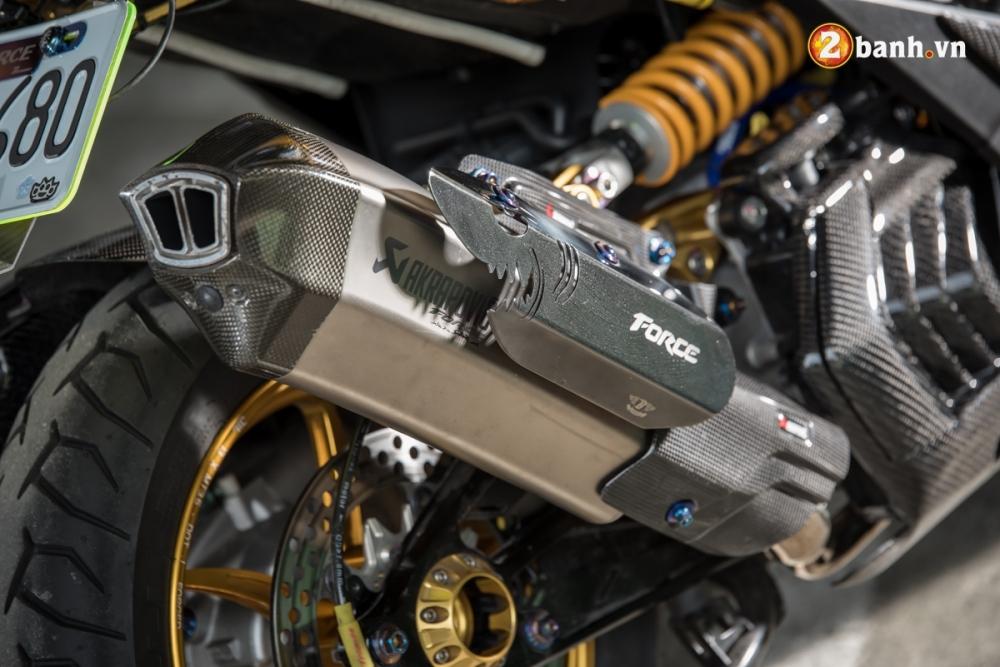 Yamaha Force 155 pha cach trong ban do full Option - 18